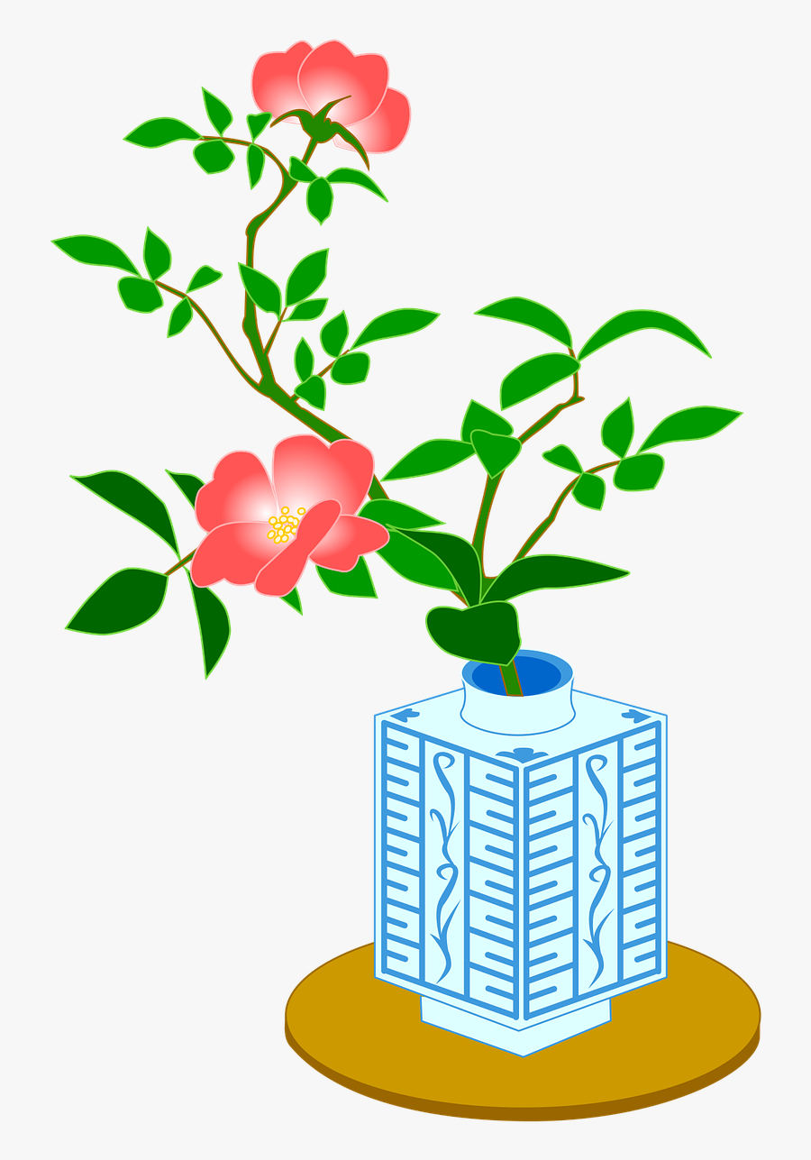 Rose The System Bus Rosa Chinensis Free Picture - Desert Rose, Transparent Clipart