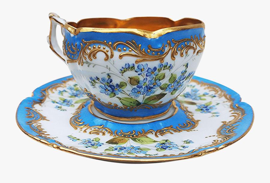 Transparent Tea Set Png - Vintage Tea Cup Png, Transparent Clipart