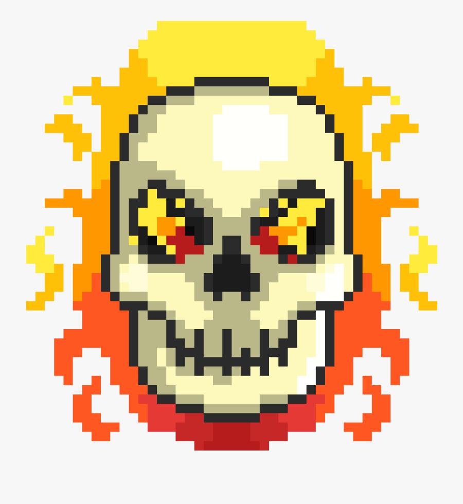 Transparent Hamlet Skull Clipart - Undertale Pixel Art Asriel Dreemurr, Transparent Clipart