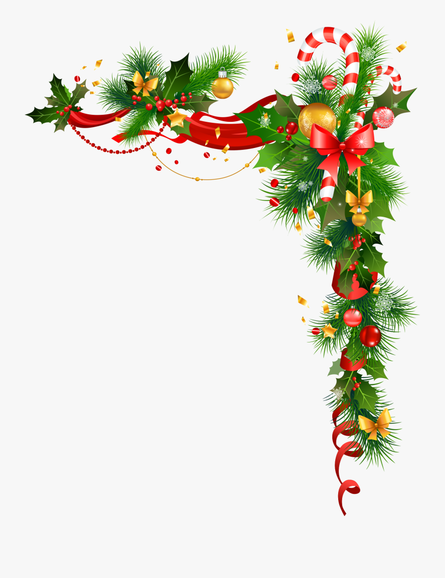 Holly - Christmas Decoration Vector, Transparent Clipart