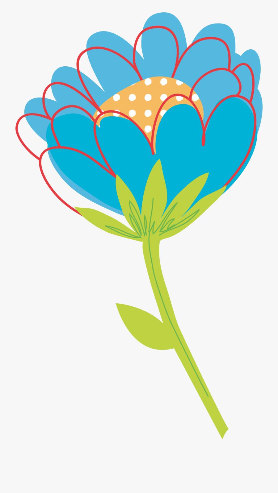 Vector Cute Flower Png, Transparent Clipart