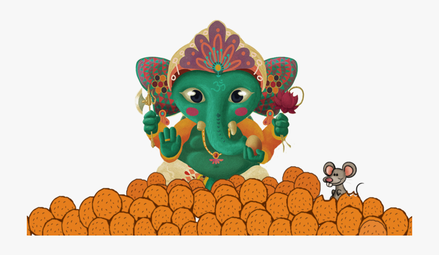 Happy Ganesh Chaturthi 2018, Ganesh Chaturthi Delicacies, - Chart For Ganesh Chaturthi, Transparent Clipart