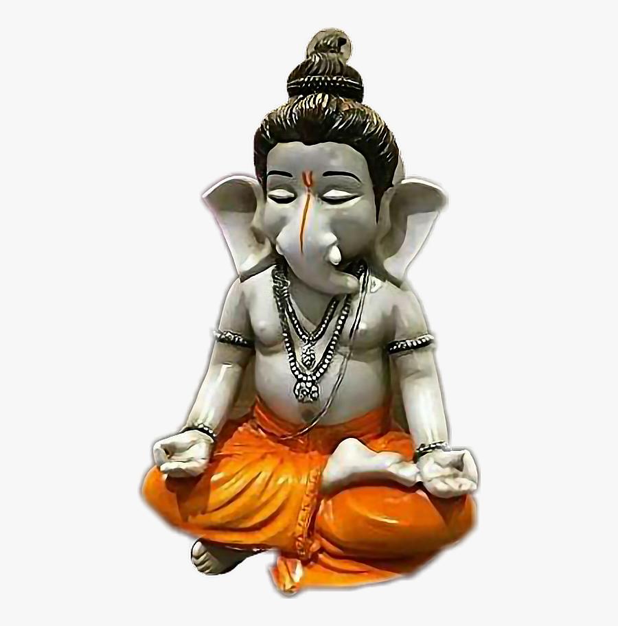 #meditation #yoga #ganeshji #lord Ganesh #ganesh - Bal Ganesh Idol, Transparent Clipart