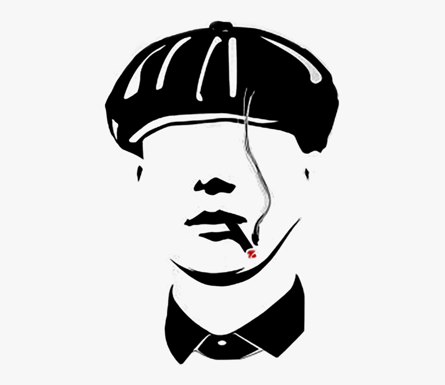 Peaky Blinders Art, Transparent Clipart