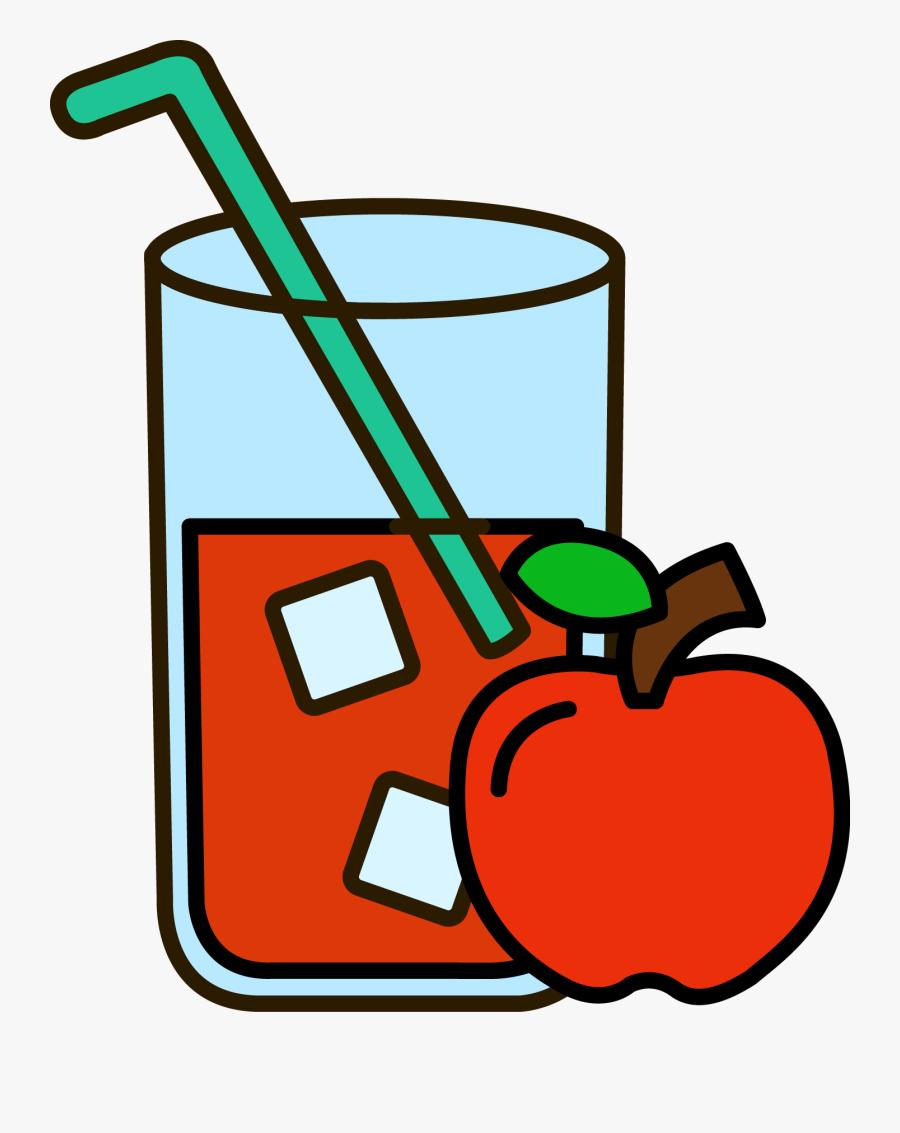 Transparent Chalk Apple Clipart - Mango Juice Clipart, Transparent Clipart