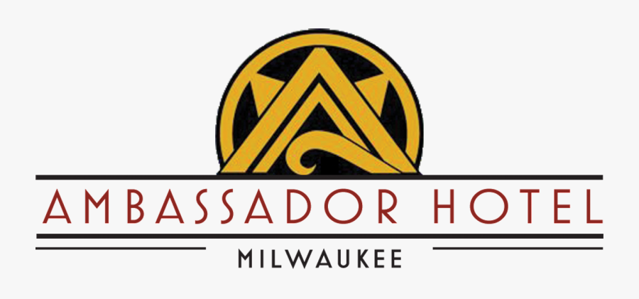 The Iconic Neon Rooftop Sign Of The Ambassador Hotel, Transparent Clipart
