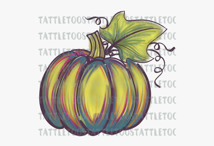 Watercolor Pumpkin Png Free, Transparent Clipart