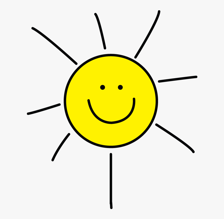 How To Draw Sun, Simple Tutorial For Kids - Sun Drawing For Kids, Transparent Clipart