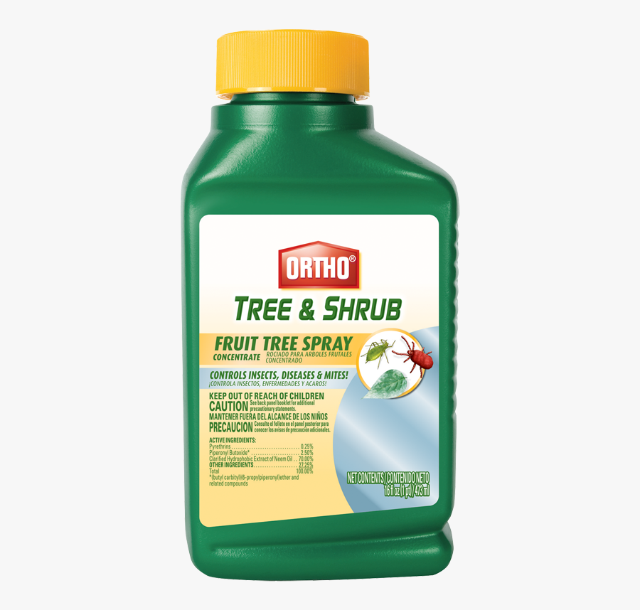 Ortho® Tree & Shrub Fruit Tree Spray Concentrate - Spray Trees For Insects, Transparent Clipart