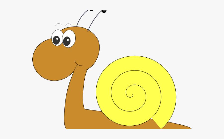 Cartoon Snail No Background, Transparent Clipart