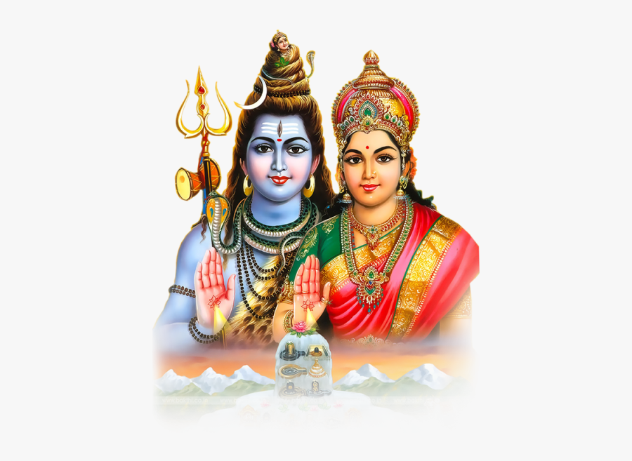 Lord Shiva Png - Lord Shiva Parvati Images Png, Transparent Clipart