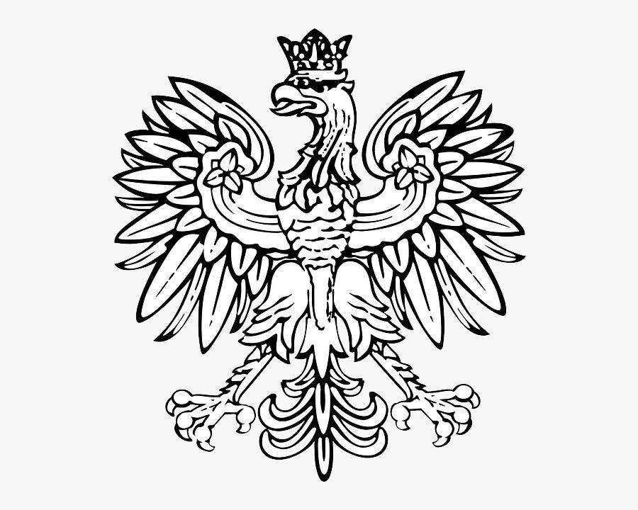 Clip Art Hanuman Tattoo - Polish Eagle Black And White, Transparent Clipart