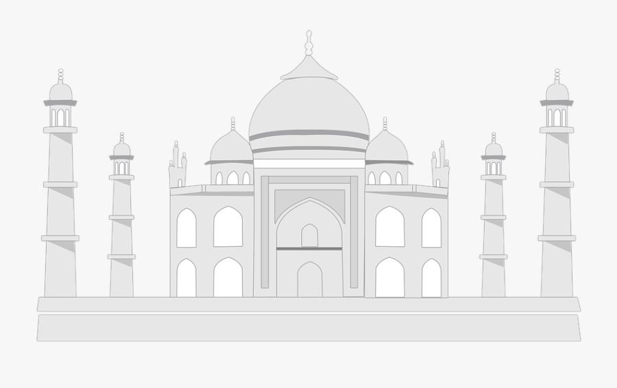 Sketsa Gambar Taj Mahal Free Transparent Clipart Clipartkey