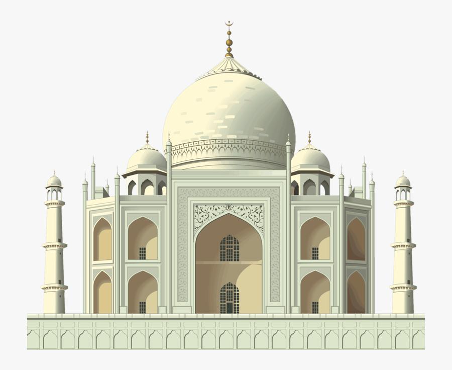 Taj Mahal, Transparent Clipart