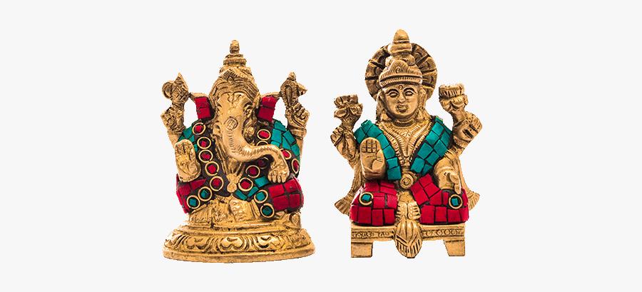 Goddess Laxmi Png - Ganesh God, Transparent Clipart
