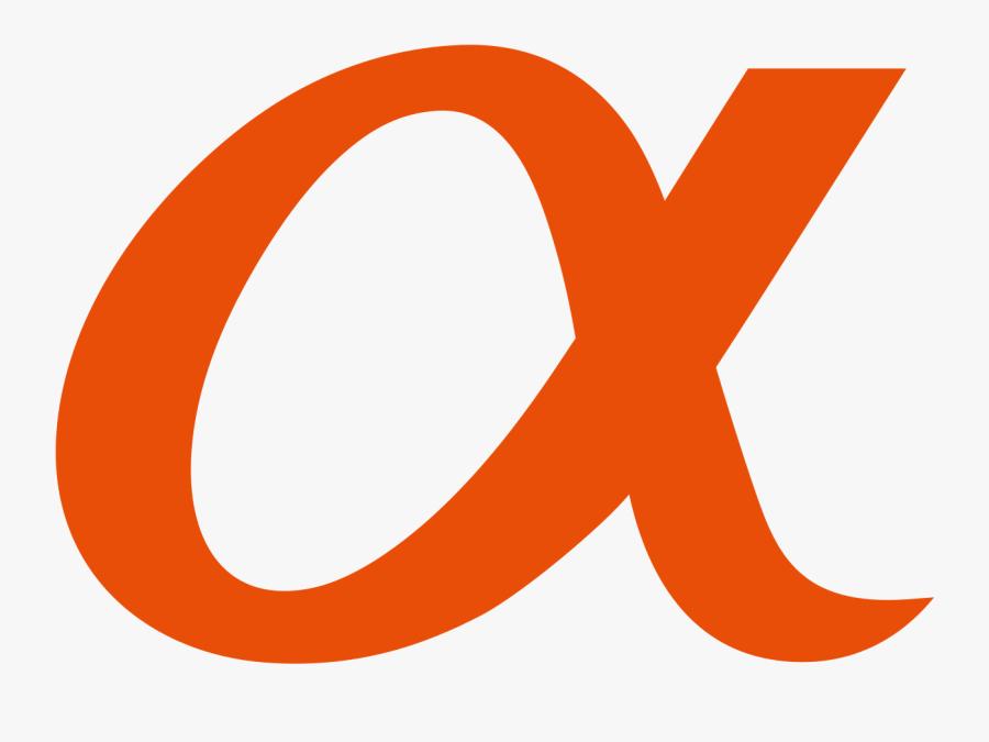 Sony Alpha Logo Png, Transparent Clipart