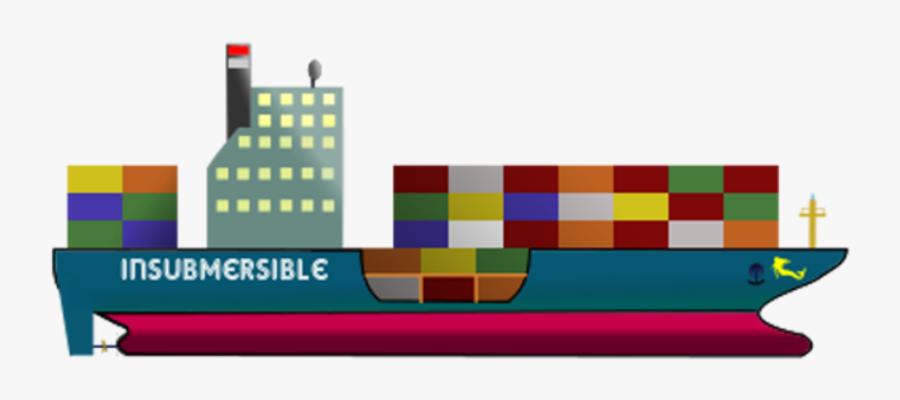 Container Ship Clip Arts - Clipart Cargo Ship Gif, Transparent Clipart