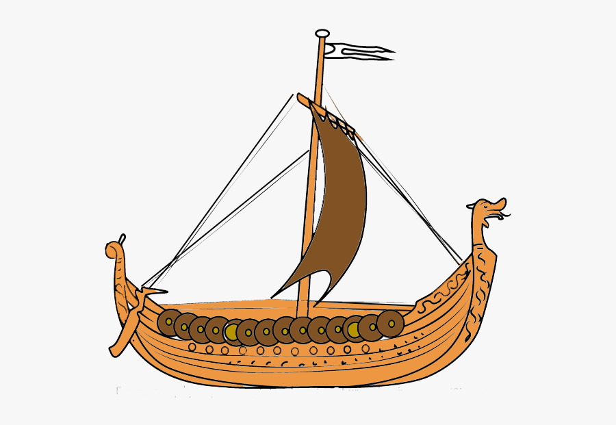 Viking Ship Png - Viking Ships, Transparent Clipart