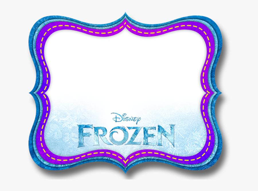 Free Frozen Printable Invitations, Labels Or Cards - Etiquetas De Frozen Para Imprimir, Transparent Clipart