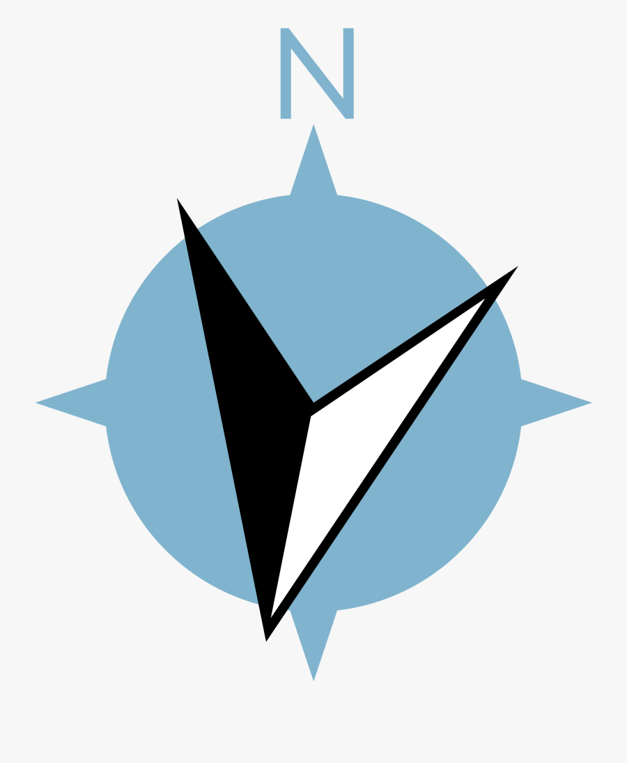 North Compass Icon Png Clipart , Png Download - Transparent Background North Sign Architecture, Transparent Clipart