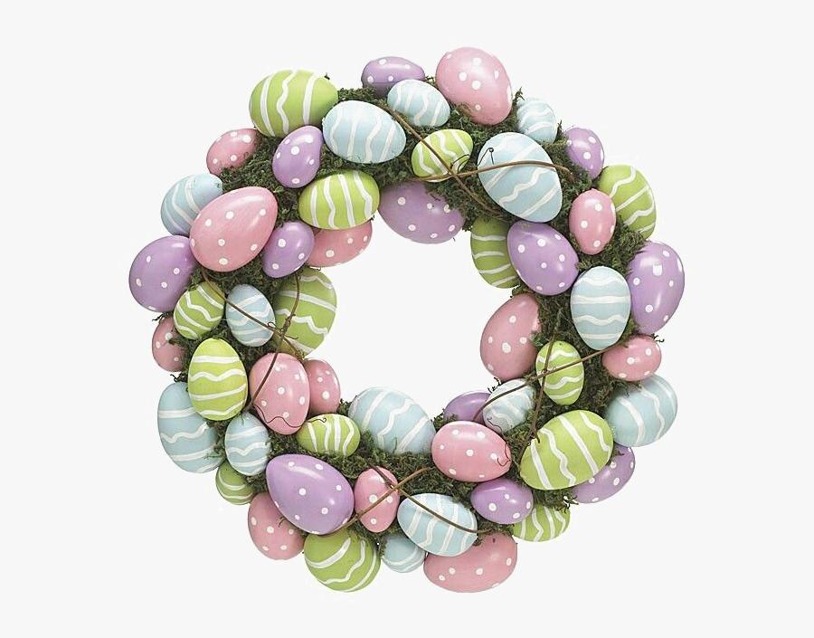 Clip Art Transparent Library Png Image Background Peoplepng - Easter Wreath Png Transparent, Transparent Clipart