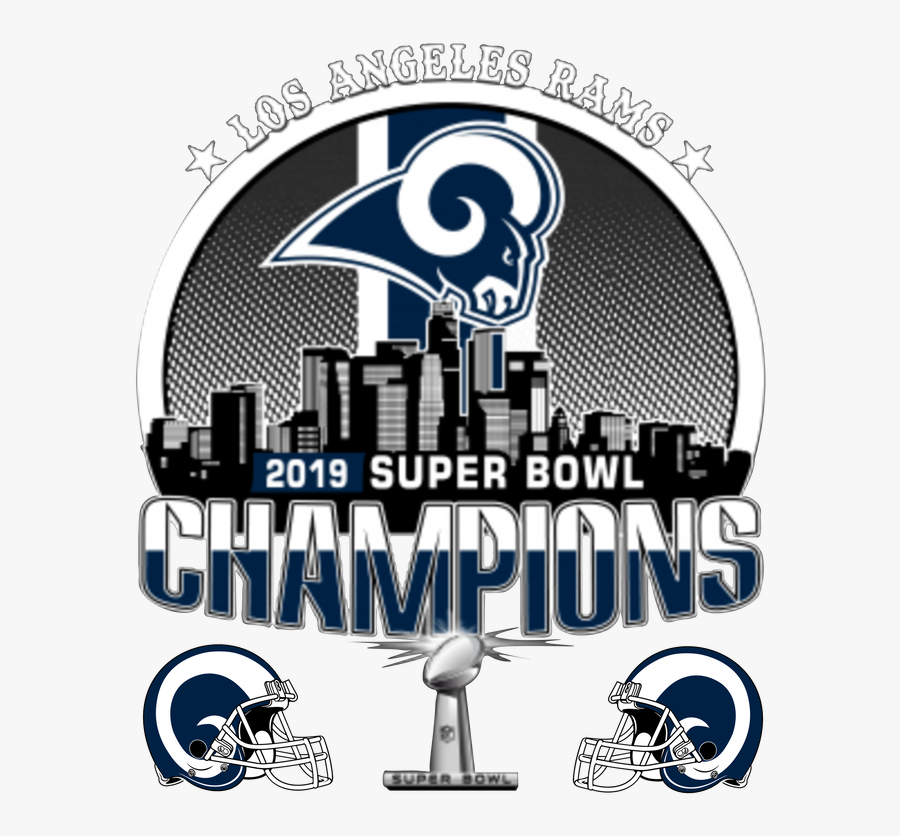 La Rams Super Bowl 53, Transparent Clipart