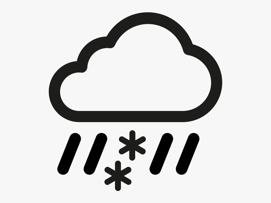 Weather Icon White Png, Transparent Clipart