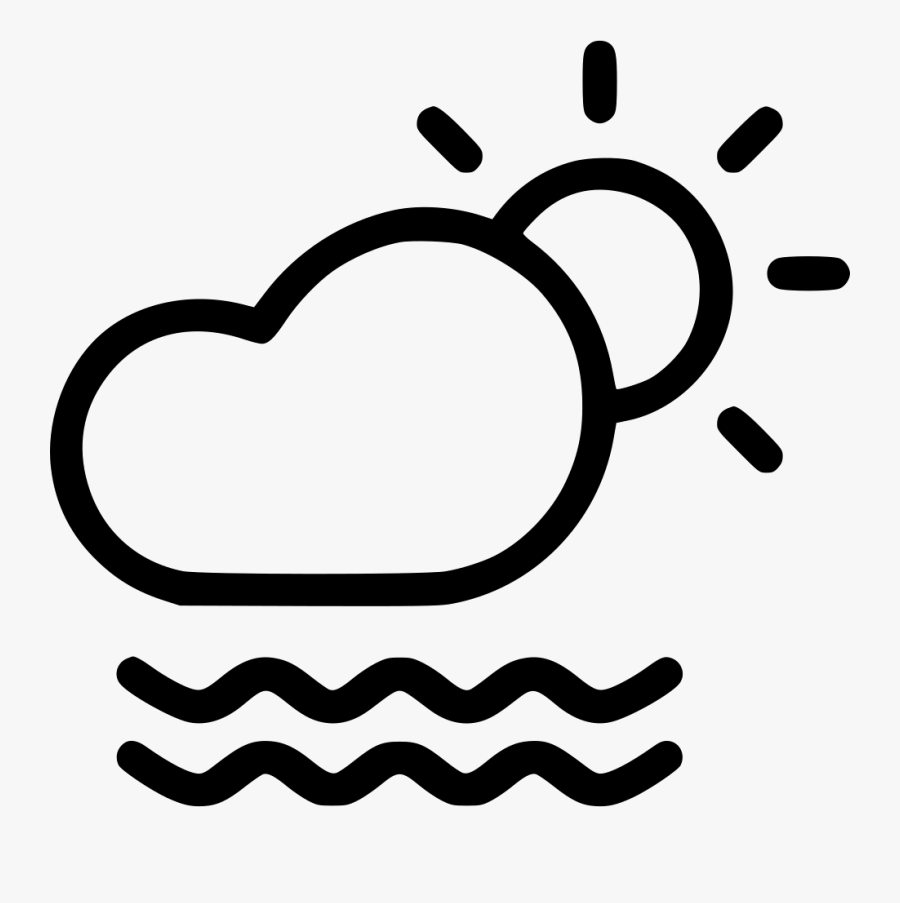 Mist Clear Weather Free - Cloud Sun Snow Icon, Transparent Clipart