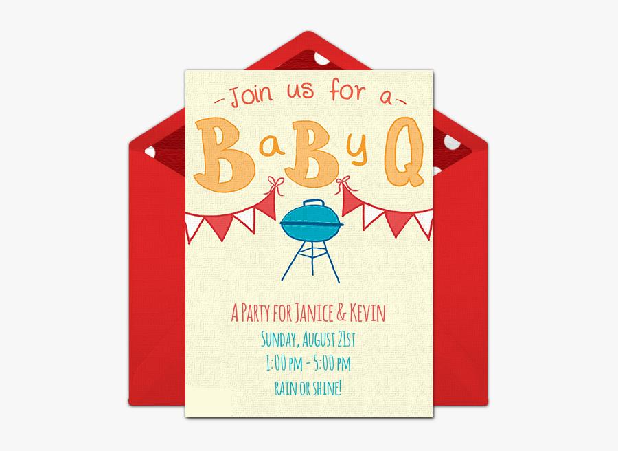 Baby Q Online Invitations, Transparent Clipart