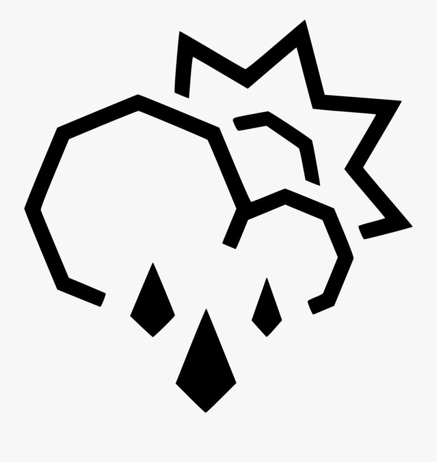 Transparent Rain Clouds Clipart - Portable Network Graphics, Transparent Clipart