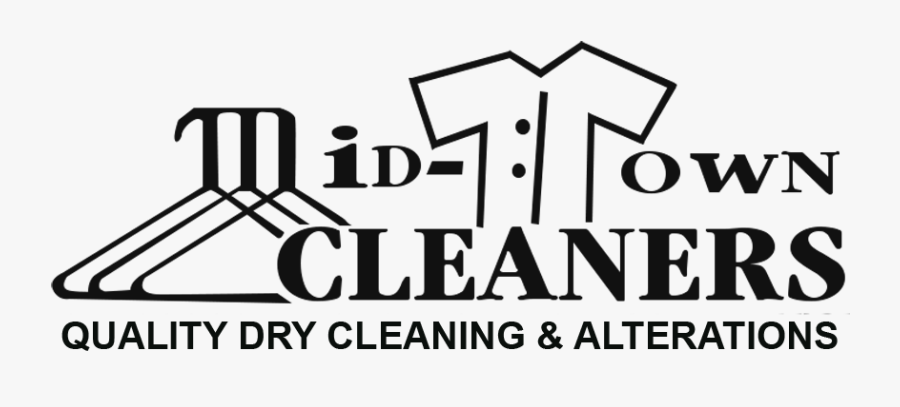 """Mid Town Cleaners""""s Logo - Birdcage Theater, Transparent Clipart"""