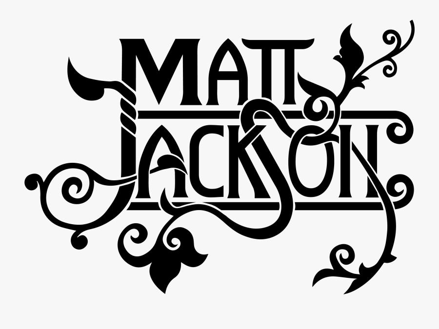 Matt Jackson Live - Graphic Design, Transparent Clipart