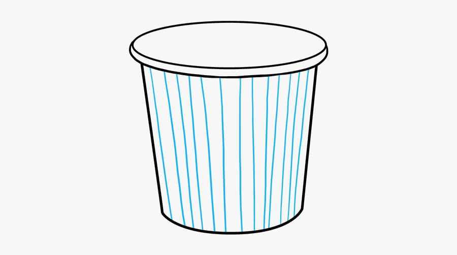 How To Draw Popcorn, Transparent Clipart
