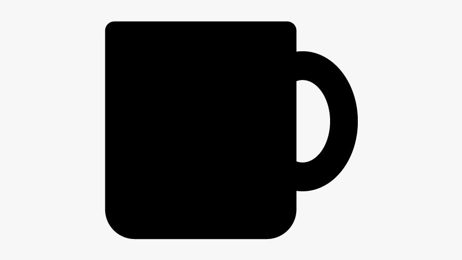 Mug Coffee Cup Silhouette - マグカップ イラスト シルエット, Transparent Clipart