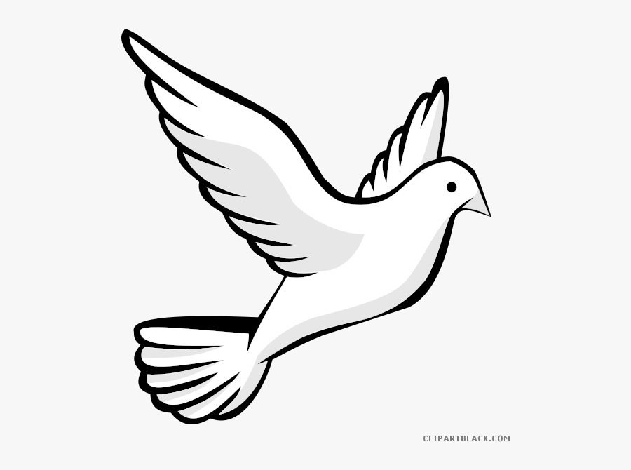 Transparent Sparrow Clipart Black And White - Easy Drawing Of Birds, Transparent Clipart