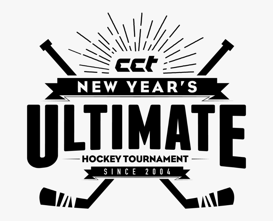New Years Ultimate - Hockey New Years, Transparent Clipart