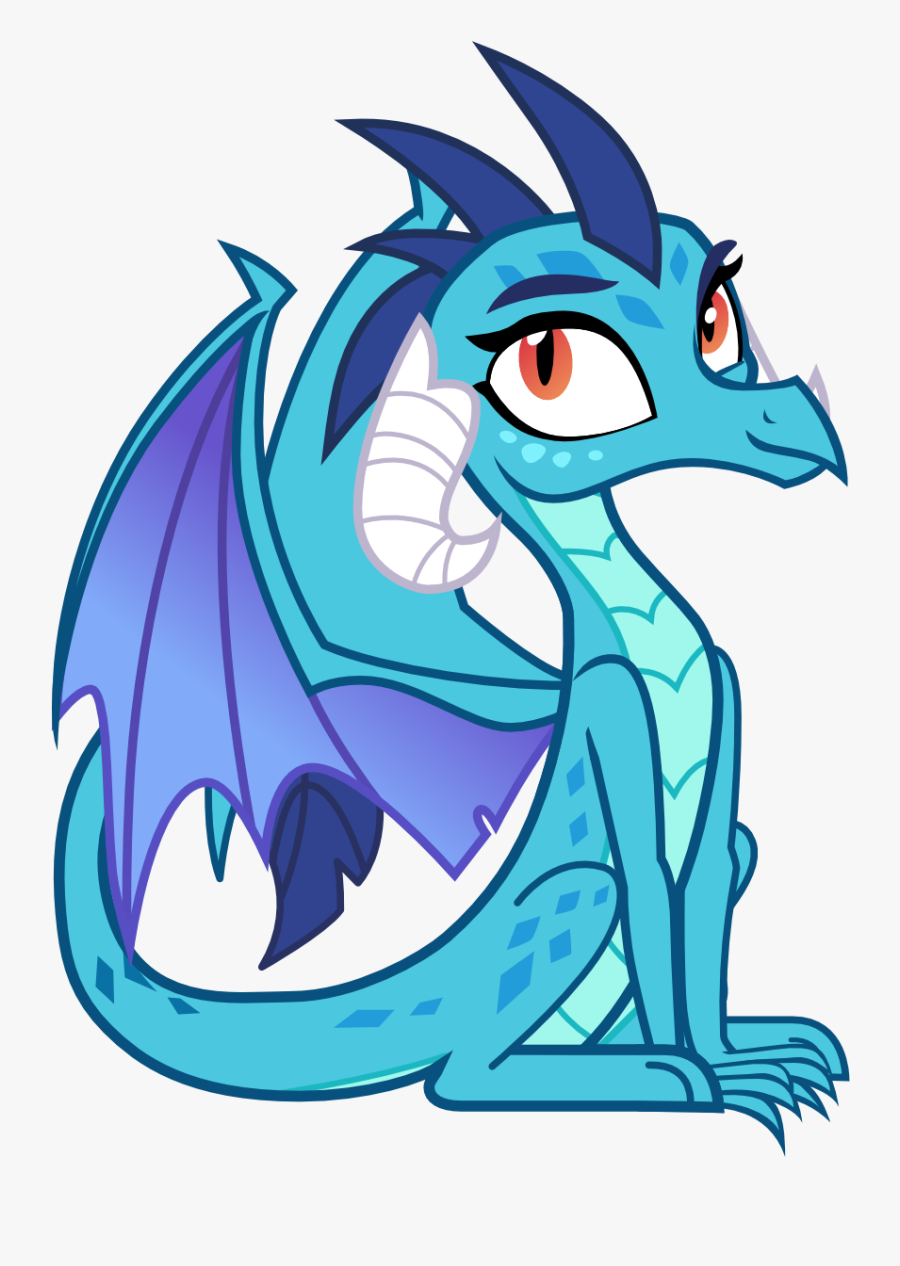 Cutie Dragoness Clipart , Png Download - Dragon, Transparent Clipart