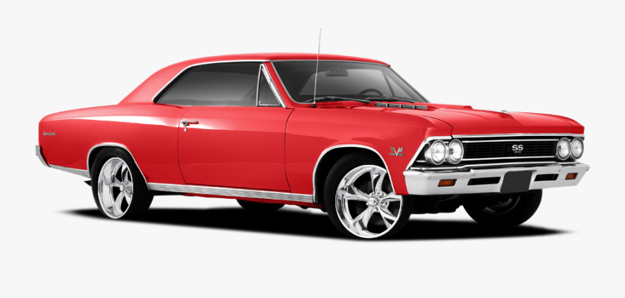 Land Car,motor Vehicle,classic Chevelle,automotive - Old School Car Png, Transparent Clipart