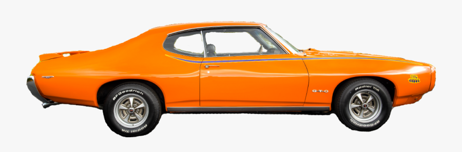 Compact Car Pontiac Luxury Vehicle Full-size Car - Transparent Background Classic Car, Transparent Clipart
