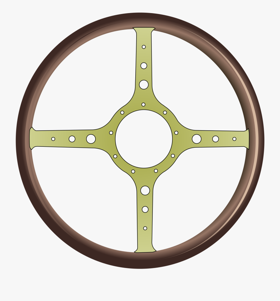 Hd Steering Wheel Clipart Png Muscle Car - Blue Circle, Transparent Clipart