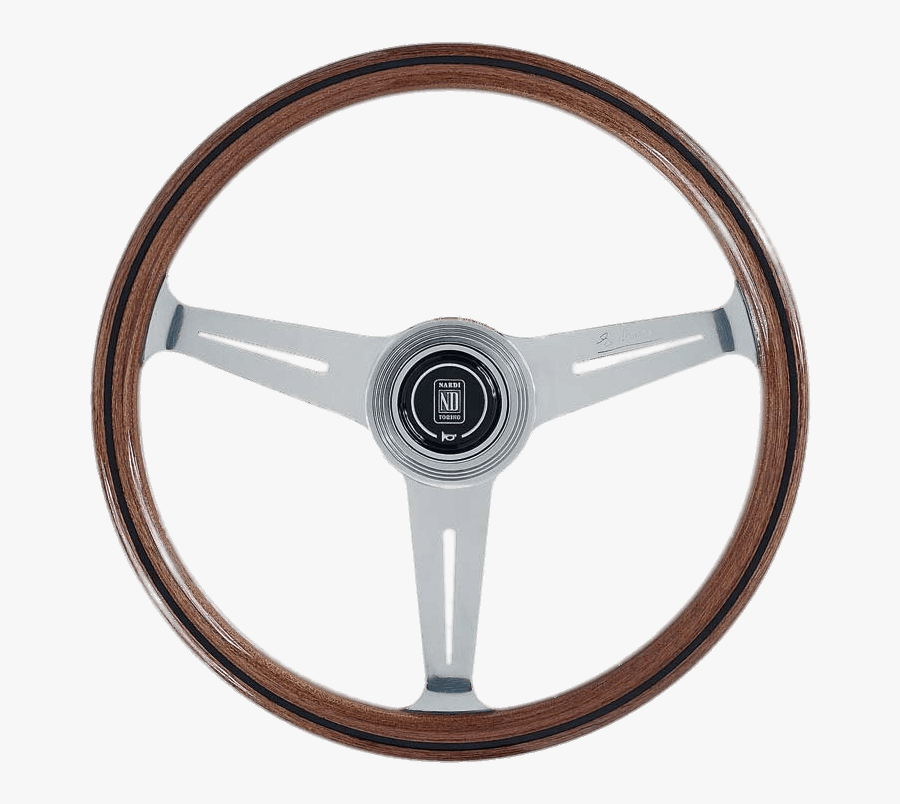 Steering Wheel Clipart Png Muscle Car, Picture - Wood Nardi Steering Wheel, Transparent Clipart