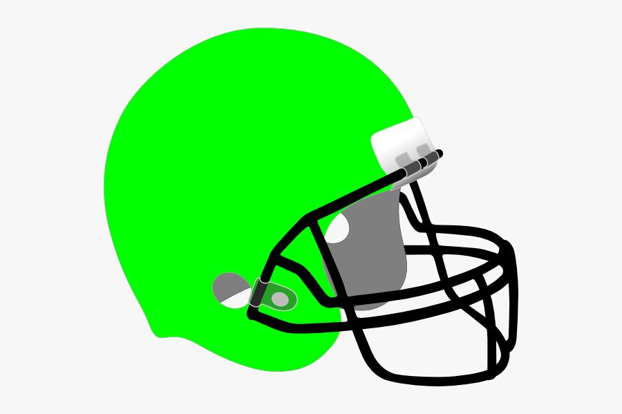 Football Helmet Clip Art At Clker - Yellow Football Helmet Clipart, Transparent Clipart