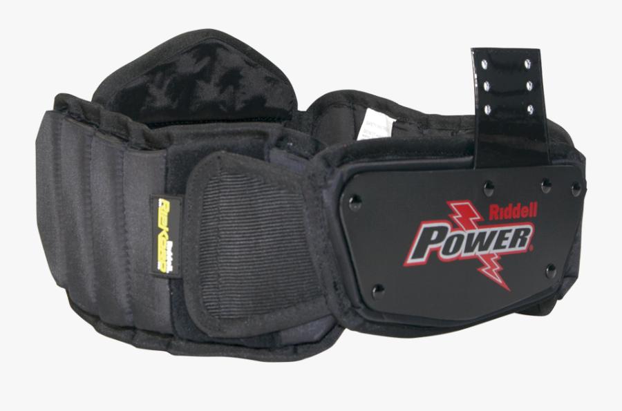 Power Spk Extended Rib Belt - Riddell Power Rib Belt, Transparent Clipart