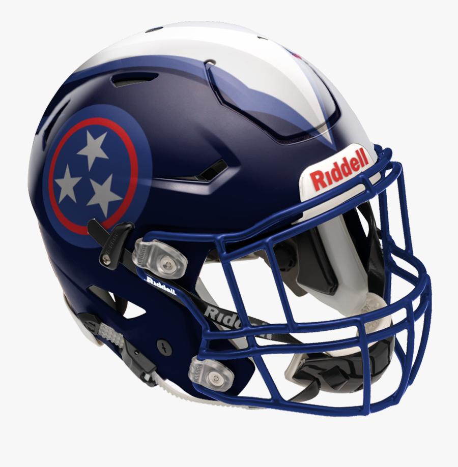 Sports Gear,helmet,football Gear,football Helmet,personal - New Tennessee Titans Uniforms 2018, Transparent Clipart