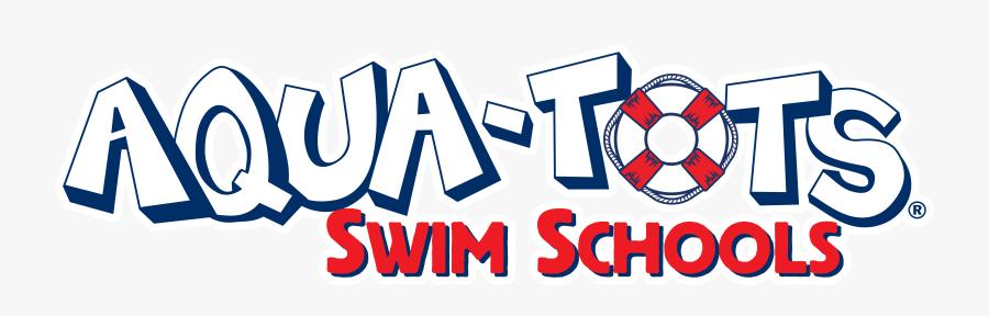 Aqua Tots Swim School Logo, Transparent Clipart