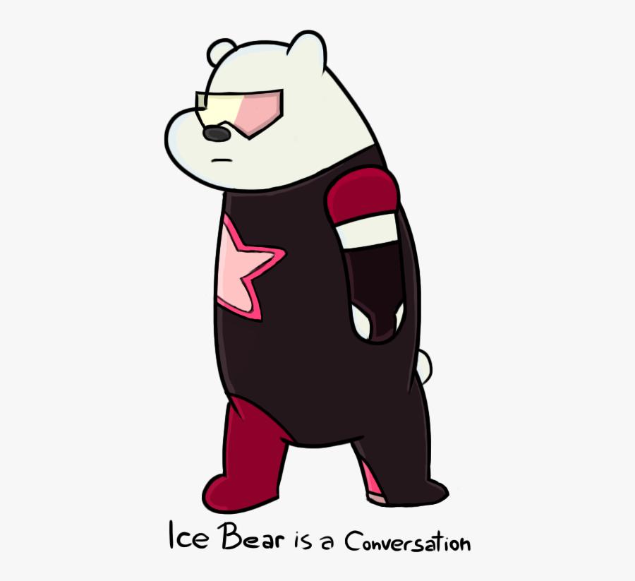 Lce Bear Is A Conversatioh Bear Polar Bear Pink Mammal - Stronger Than You Memes, Transparent Clipart