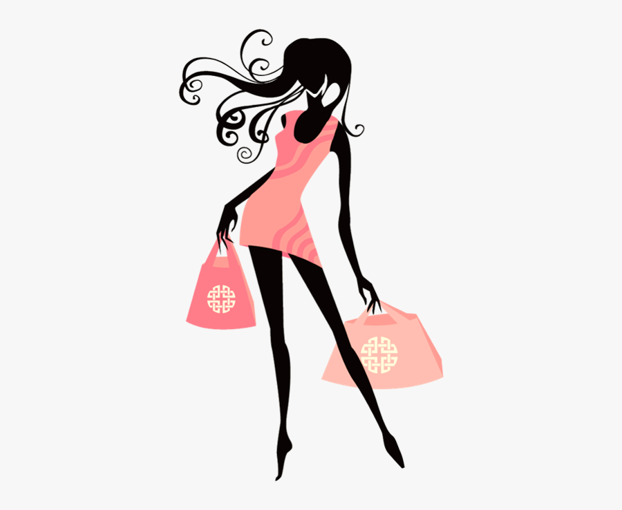 Fashion Girl Vector Png, Transparent Clipart