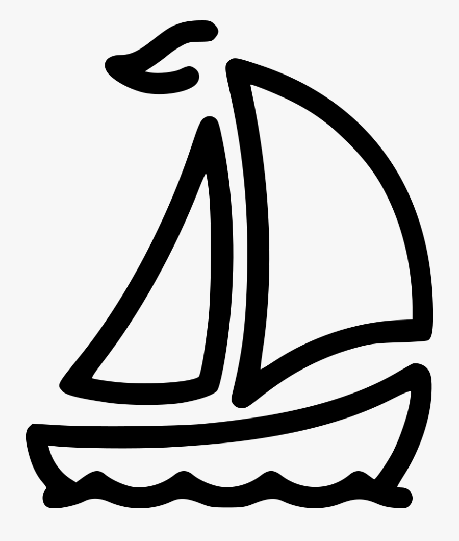 Sail - Boat, Transparent Clipart