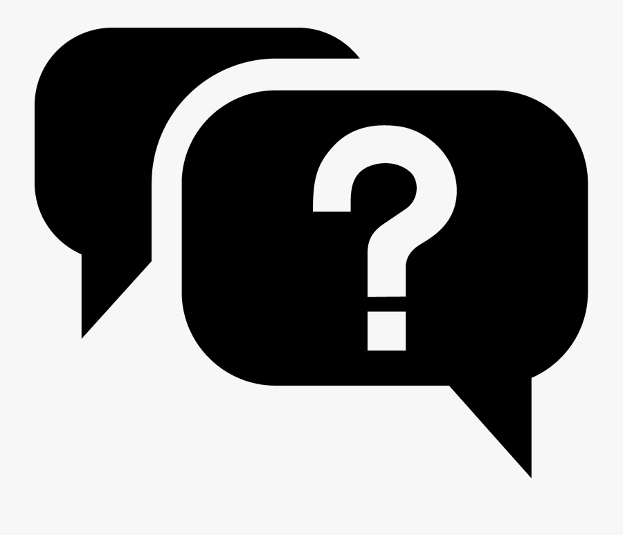 Frequently Asked Questions Icon Svg, Transparent Clipart
