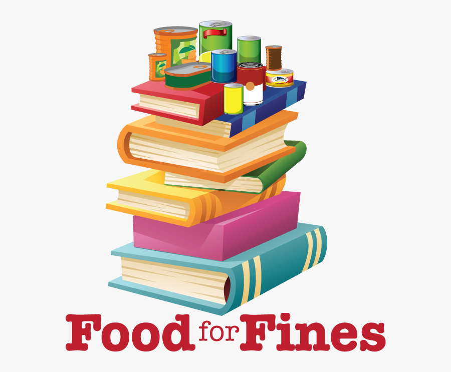 Donations For Fines City - Food For Fines Library 2019, Transparent Clipart